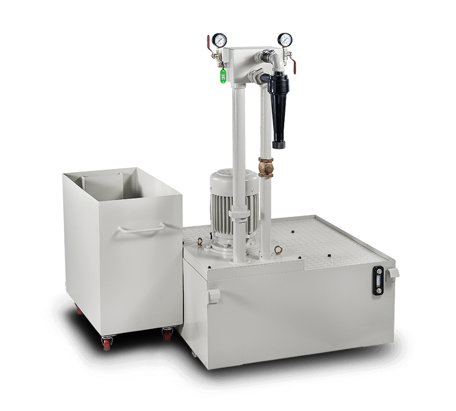 Coolant System With Hydraulic Filtration